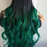 Perfection Of Green Hair Colors for Long Hair in 2018