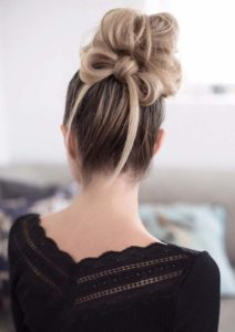 Prettiest High Messy Bun Styles for 2021