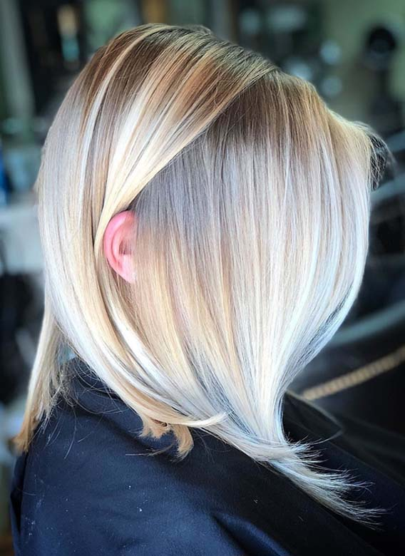 Gorgeous Baby Lights & Bright Blond Hair Colors in 2018