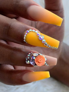 Banana Yellow Nail Polish Designs in 2021
