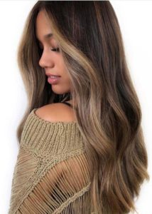 Beautiful And Sweet Look Of Balayage Highlights for 2018
