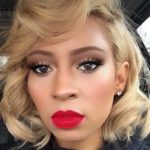 Curly Bob Haircuts With Blond Bombshell Hair Colors in 2021