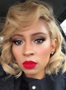 Curly Bob Haircuts With Blond Bombshell Hair Colors in 2018