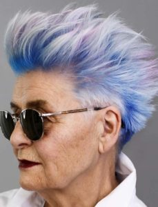 Embracing Colorful Pixie Haircuts For Mature Women in 2018