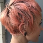 Fashionable Short Pink Pixie Hairstyles for 2018