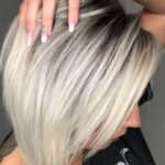 Gorgeous Deep Roots & Ice Blonde Hair Color Styles for 2021