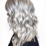 Gorgeous Silver Tones for Long Curls 2018