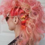 Greatest Sexy Braid Knot And Pink Highlights in 2018