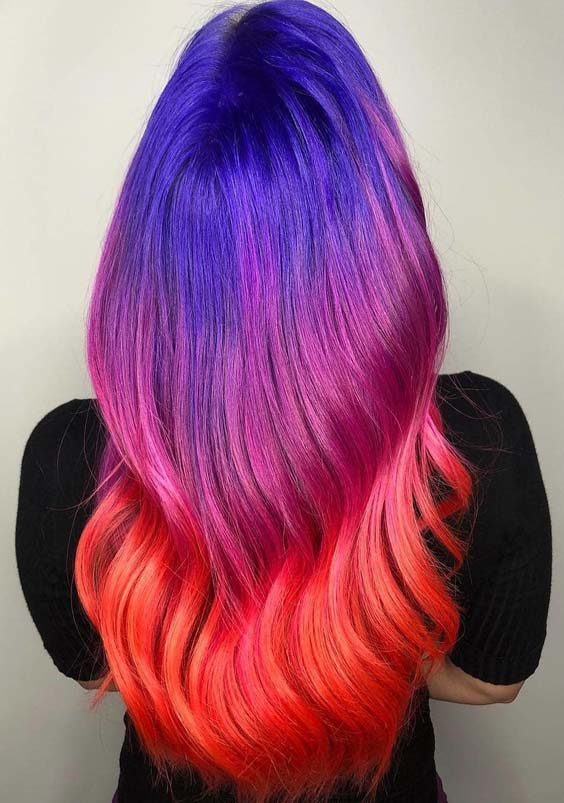 Incredible Hair Color Combo You Must Try in Year 2018