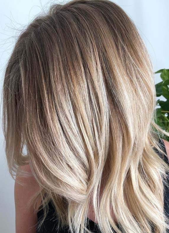 Modern Looking Balayage Hair Colors for Fall-Autumn 2018