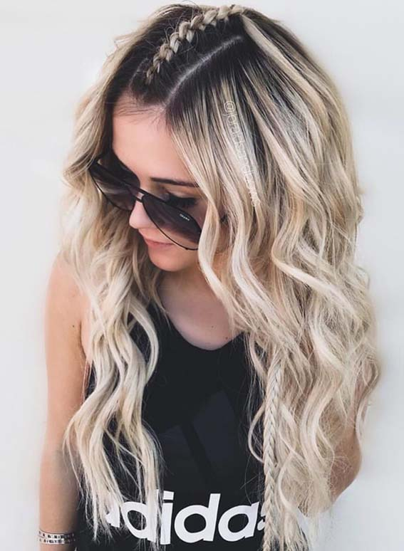 Pretty Braids for Long Hair to Sport in Year 2018