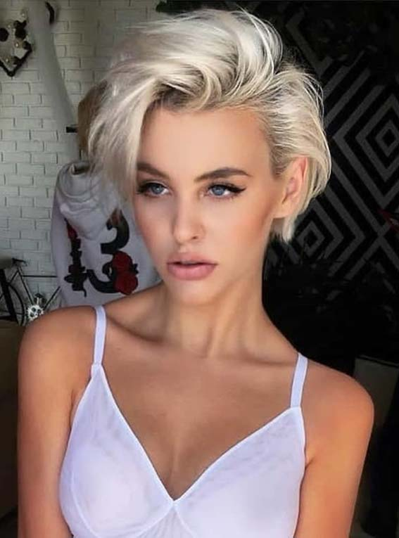 Stunning Pixie Haircuts & Styles for Every Woman 2018