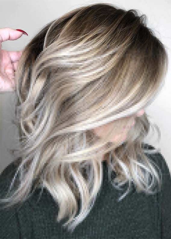 Best Balayage Dimensions with Blonde Hair Color Highlights in 2019
