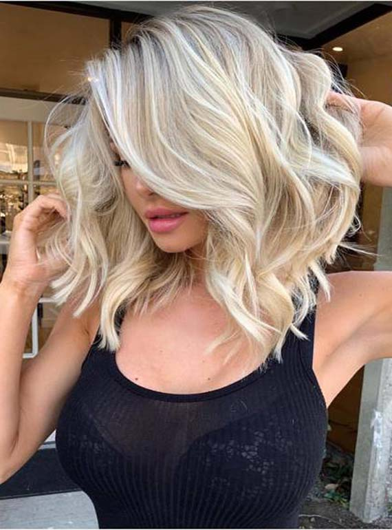 Best Of Balayage Medium Length Haircuts \u0026 Hairstyles for
