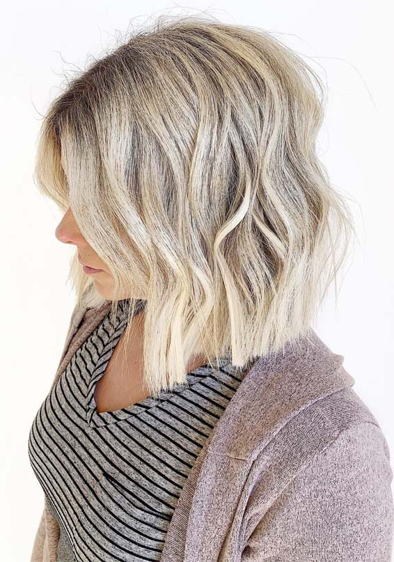 Beautiful Blunt Blonde Bob Haircuts for Women in 2019
