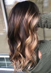 Brunette Balayage Hair Color Highlights in 2019