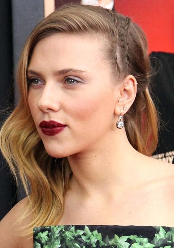 Gorgeous Celebrity Shaved Head Hairstyles for 2021