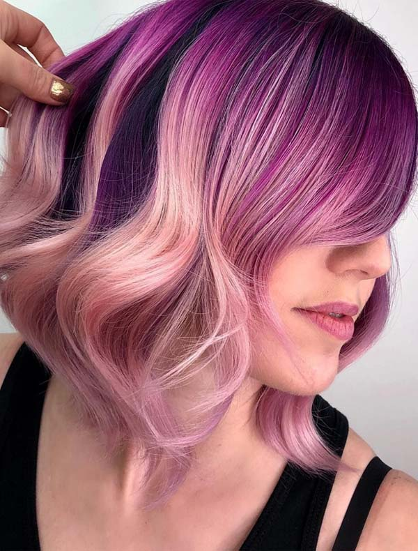 Charming Rose Gold Hair Colors for Every Woman in 2019