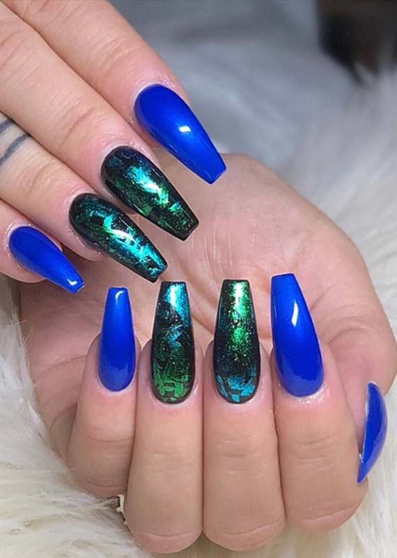 Gorgeous Colorful Nail Designs & Images for 2018-2019