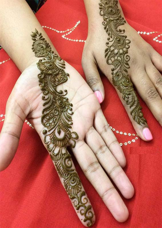 Creative Henna Tattoo Designs for Women in 2021