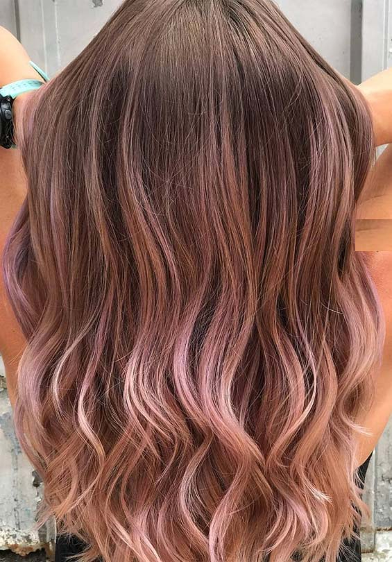 Creative Lavender Balayage Hairstyles & Hair Colors for 2019
