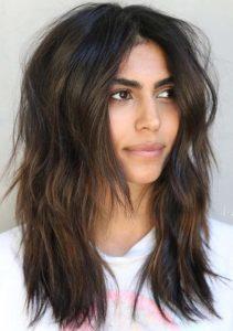 Face Framing Medium Length Haircuts in 2021