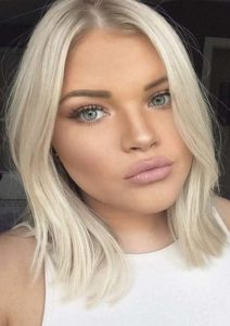 Fantastic Blonde Lob Hairstyles for 2021