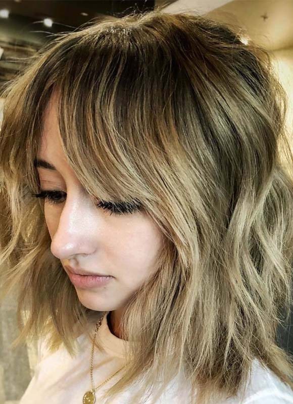 Gorgeous Layers & Fringes Hairstyles Ideas in 2018-2019