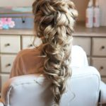 Modern Romantic Braids And Pinned Curls in 2019
