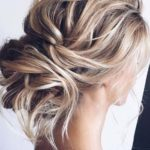 Modern Undone Updo Hairstyles for 2021