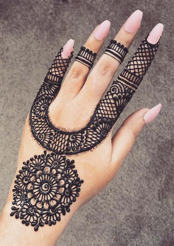 Inspirational Wedding Henna & Mehndi Ideas in 2019