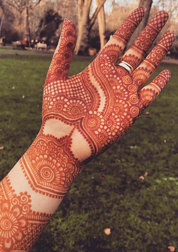 Awesome Late Night Palm Henna Designs for 2019