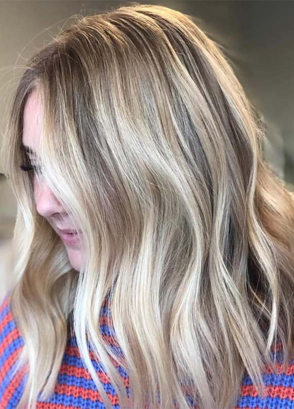 Top Blonde Hair Color Blends for Women 2019