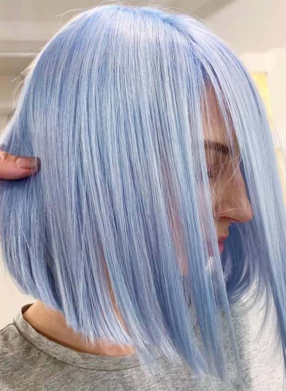 Magical Blue Hair Color & Hairstyles You'll Love in 2019