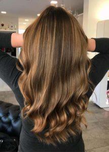 Caramel Balayage Hair Color Ideas in 2019
