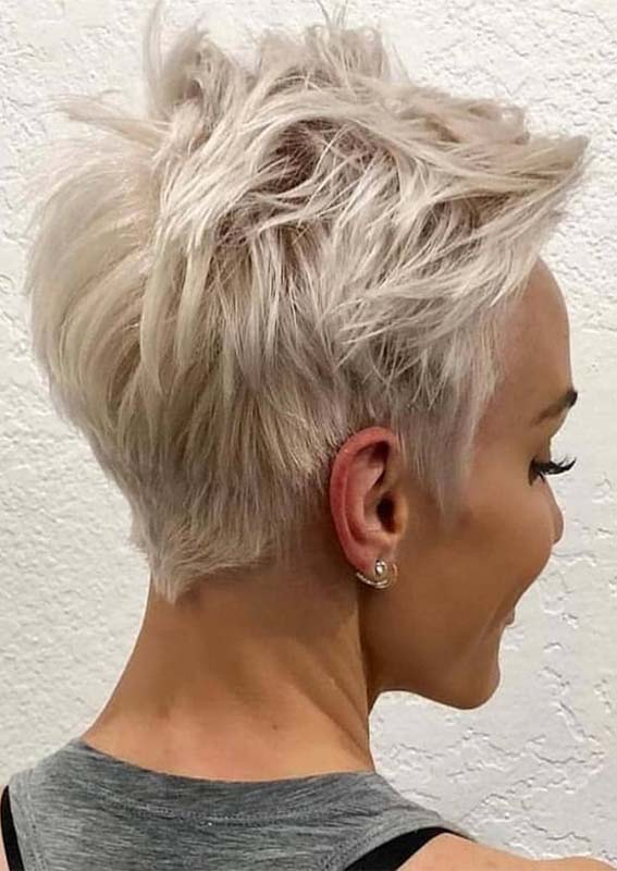 Fabulous Messy Pixie Haircuts and Hairstyles for 2021