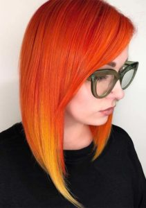 Gorgeous Sunset Orange Hair Color Shades for 2019