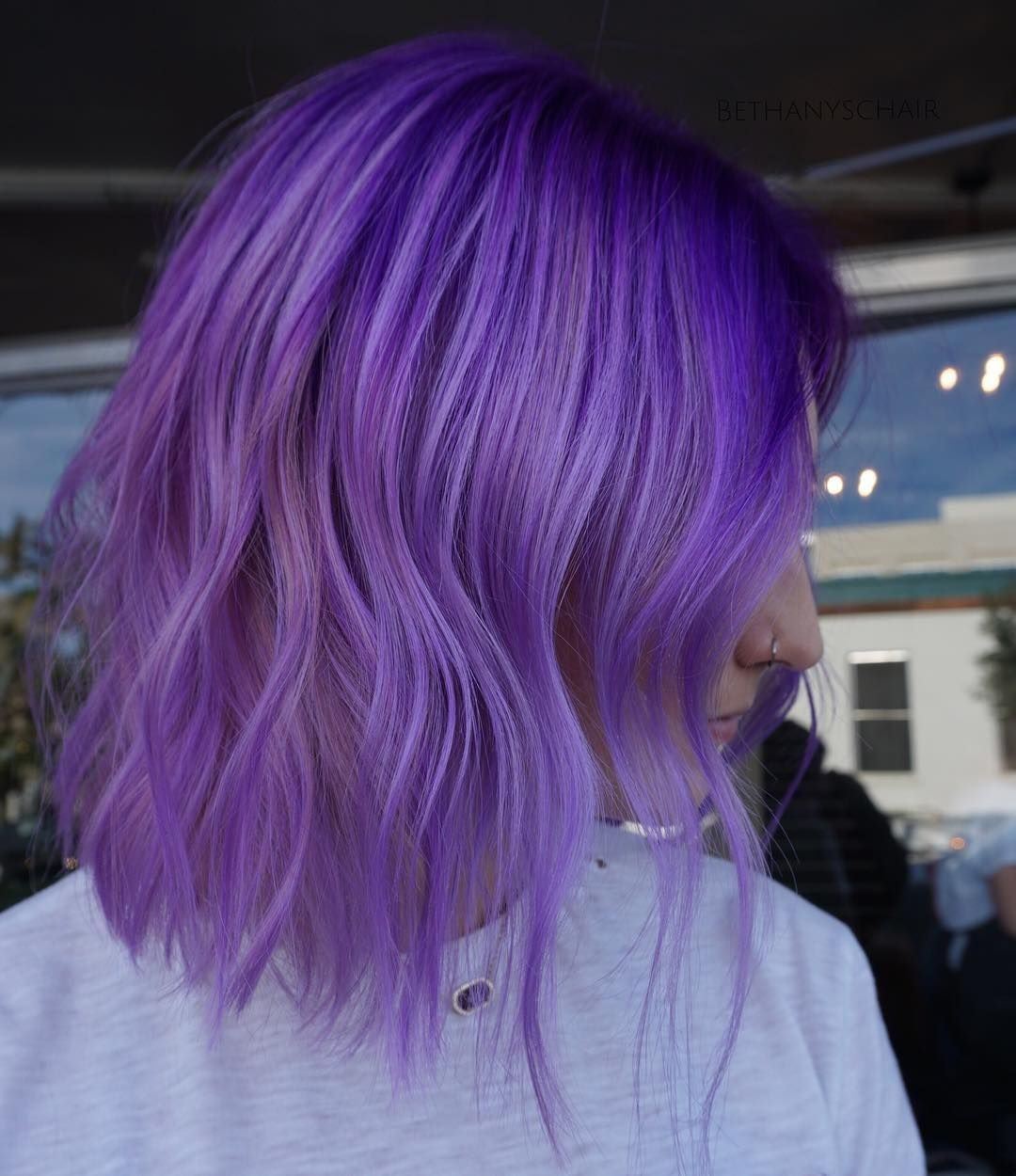 Incredible Violet Ombre Hair Color Trends in 2021