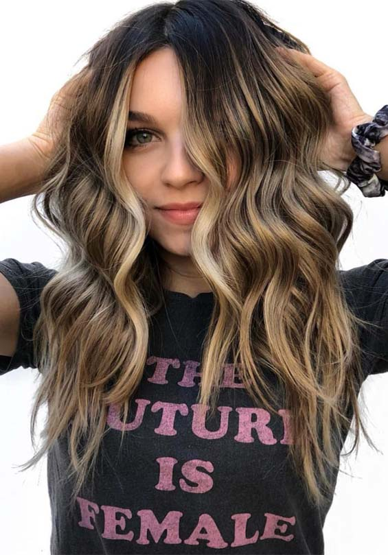 Perfection Of Balayage Highlights in 2021-2019