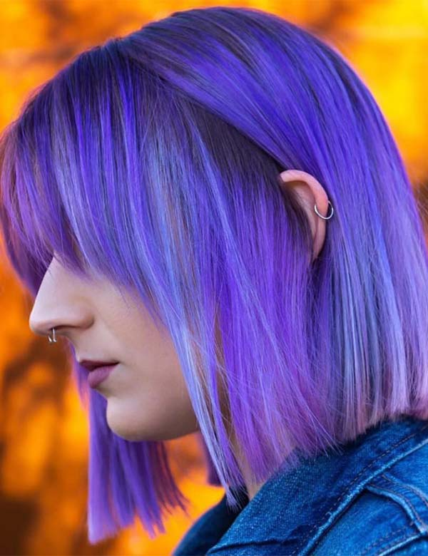 Stunning Pulp Riot Blue Hair Color & Highlights for 2019