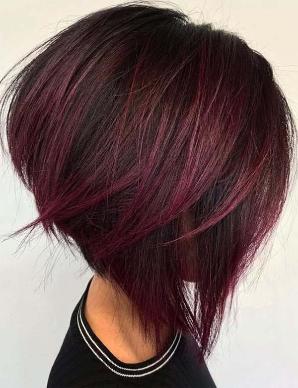 Best Short Angled Bob Haircuts for Women in 2021
