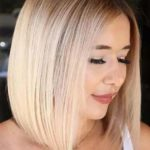 Straight Bob Cuts for Round Faces in 2019