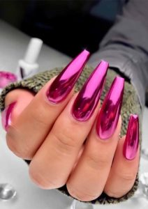 Wonderful Pink Long Nail ideas for 2019