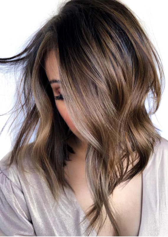Adorable Balayage Lob Styles To Create In 2019 Modeshack