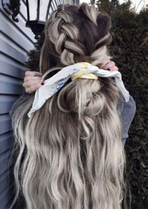 Braided Hairstyles for Long Ombre Hair in 2021