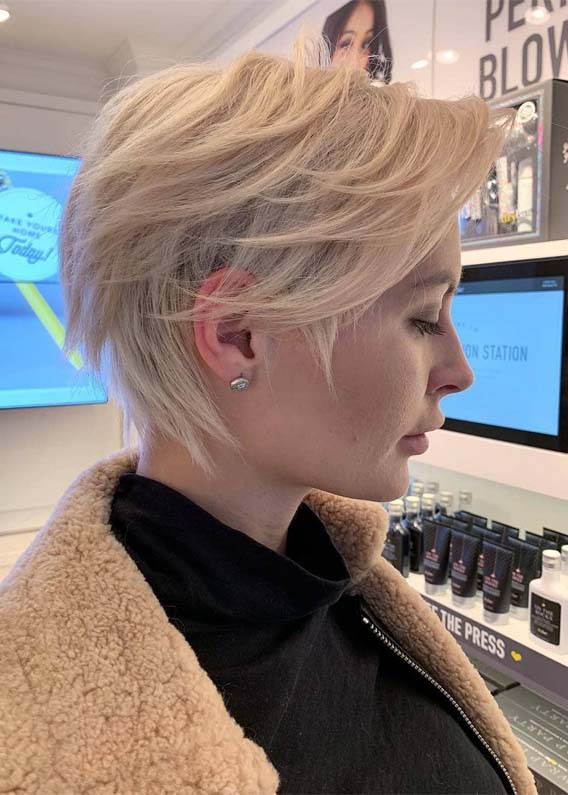 Fantastic Short Pixie Haircut Styles for Women in 2019