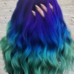 Fresh Blue To Green Hair Colors And Highlights in 2019