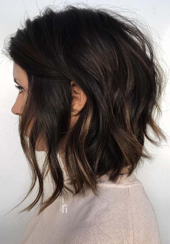 Fresh Textured Bob Haircuts to Copy in Year 2019