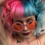 Gorgeous Pink And Blue Ombre Hair Colors for Short Haircuts for 2019