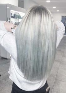 Grey Hair Color Shades for Women in 2019